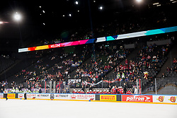 Empty seats during the 2017 IIHF Men's World Championship group B Ice hockey match between National Teams of Slovenia and Norway, on May 9, 2017 in Accorhotels Arena in Paris, France. Photo by Vid Ponikvar / Sportida