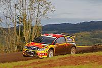 MOTORSPORT - WORLD RALLY CHAMPIONSHIP 2010 - RALLYE DE FRANCE / ALSACE  - STRASBOURG (FRA) - 30/09 TO 03/10/2010 - PHOTO : FRANCOIS BAUDIN / DPPI - <br /> SOLBERG Petter (NOR) / PATTERSON Chris (GBR) - PETTER SOLBERG WORLD RALLY TEAM - CITROËN C4 WRC - Action