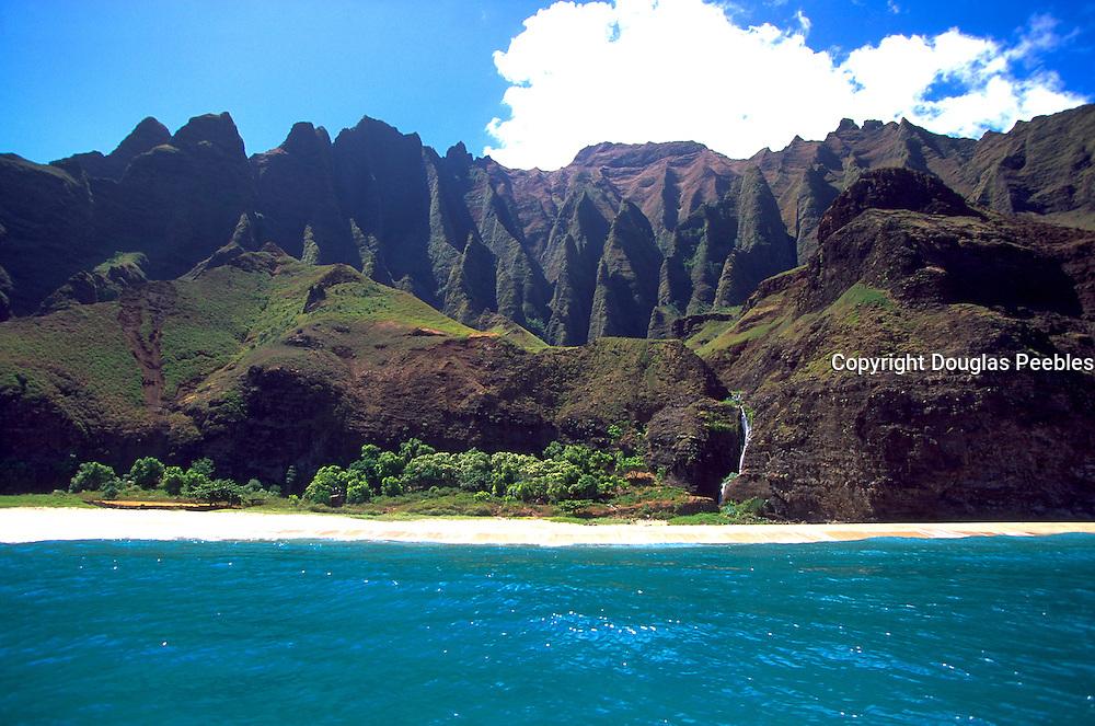 Kalalau Beach, Napali Coast, Kauai, Hawaii, USA<br />