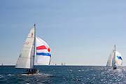 American Eagle, Weatherly, Traditional class at the 12 Meter Class North American Championship