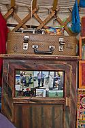 Mongolia. inside a yurt, material to prepare milk product.  near the water falls  in the Orkhon valley    Ovokhangai -   /  Interieur de yourte, ustensiles pour preparer les produits laitiers.  pres  des  chutes díeau  de la vallÈe de líOrkhon   - Mongolie  b