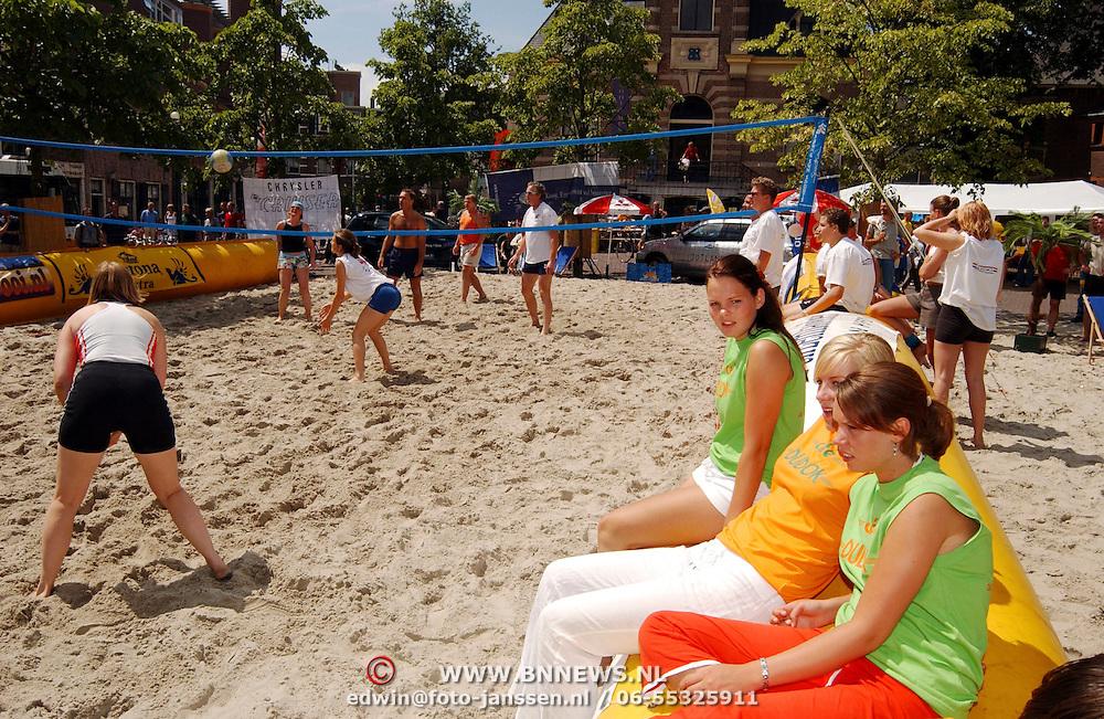 Beach volleybal toernooi 2003 op de Gooische Brink Hilversum