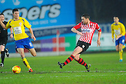 Exeter City's Matt Oakley during the Sky Bet League 2 match between Exeter City and Accrington Stanley at St James' Park, Exeter, England on 23 January 2016. Photo by Graham Hunt.