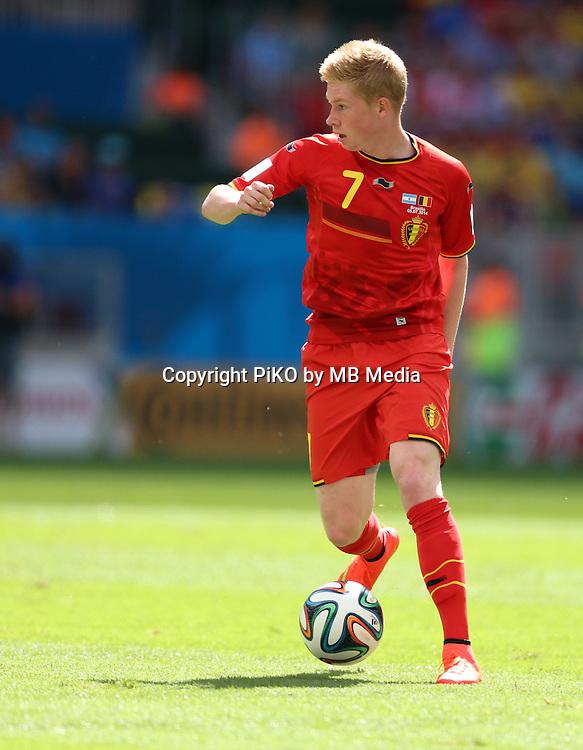 Fifa Soccer World Cup - Brazil 2014 - <br /> ARGENTINA (ARG) Vs. BELGIUM (BEL) - Quarter-finals - Estadio Nacional Brasilia -- Brazil (BRA) - 05 July 2014 <br /> Here Belgian player Kevin DE BRUYNE<br /> &copy; PikoPress
