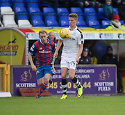 Dundee's Mark O'Hara and Inverness' Carl Tremarco - Inverness Caledonian Thistle v Dundee in the Ladbrokes Scottish Premiership at Caledonian Stadium, Inverness.Photo: David Young<br /> <br />  - © David Young - www.davidyoungphoto.co.uk - email: davidyoungphoto@gmail.com