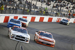 April 20, 2018 - Richmond, Virginia, United States of America - April 20, 2018 - Richmond, Virginia, USA: Kaz Grala (24) brings his race car down the front stretch during the ToyotaCare 250 at Richmond Raceway in Richmond, Virginia. (Credit Image: © Chris Owens Asp Inc/ASP via ZUMA Wire)