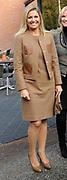 Hare Koninklijke Hoogheid Prinses M&aacute;xima der Nederlanden heeft op de Nyenrode Business Universiteit in Breukelen een toespraak over toegang tot financi&euml;le diensten (inclusive finance). <br /> <br /> Her Royal Highness Princess M&aacute;xima of the Netherlands at the Nyenrode Business University in Breukelen a speech on access to financial services (inclusive finance).<br /> <br /> Op de foto / On the photo: <br />  Aankomst prinses Maxima