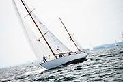 Dorade sailing in the Marblehead Corinthian Classic Yacht Regatta. Photo by Cory Silken / Panerai, © Cory Silken 2016.