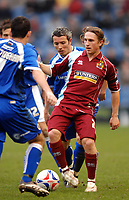 Photo: Paul Greenwood.<br /> Burnley FC v Cardiff City. Coca Cola Championship. 09/04/2007.