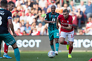Bristol City's Andi Weimann during the EFL Sky Bet Championship match between Bristol City and Swansea City at Ashton Gate, Bristol, England on 21 September 2019.