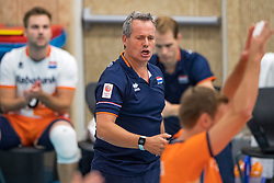 08-09-2018 NED: Netherlands - Argentina, Ede<br /> Second match of Gelderland Cup / Coach Gido Vermeulen