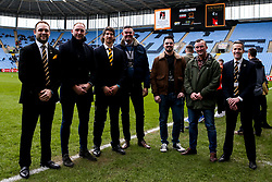 Player meet and greet with Michael Le Bougeois of Wasps - Mandatory by-line: Robbie Stephenson/JMP - 07/03/2020 - RUGBY - Ricoh Arena - Coventry, England - Wasps v Gloucester Rugby - Gallagher Premiership Rugby