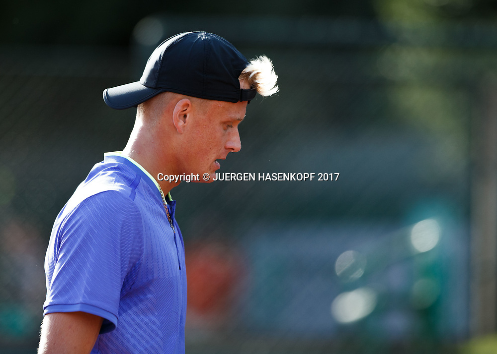 NICOLA KUHN (ESP) Junior Boys<br /> <br /> Tennis - French Open 2017 - Grand Slam / ATP / WTA / ITF -  Roland Garros - Paris -  - France  - 4 June 2017.