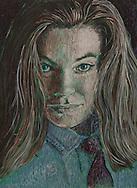 BROOKE, acrylic 1995