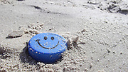 Smiley on the beach