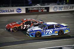 September 22, 2018 - Richmond, Virginia, United States of America - Martin Truex, Jr (78) battles for position during the Federated Auto Parts 400 at Richmond Raceway in Richmond, Virginia. (Credit Image: © Chris Owens Asp Inc/ASP via ZUMA Wire)