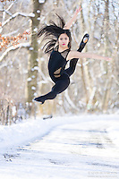 Dance As Art The New York City Photography Project Central Park Winter Series with Maddie Pineda
