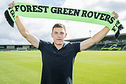 Paul Digby signing for Forest Green Rovers at the New Lawn, Forest Green, United Kingdom on 31 July 2018. Picture by Shane Healey.