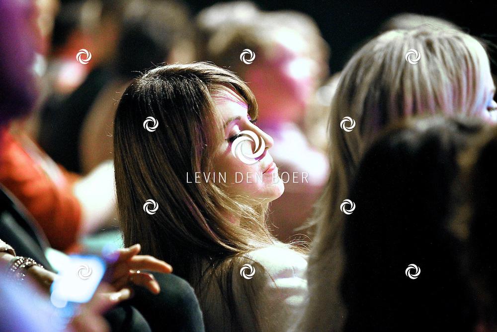 HILVERSUM - De tweede live show van Hollands Got Talent met diversen optredens. Met op deze foto  Tamara Elbaz als gast. FOTO LEVIN DEN BOER - PERSFOTO.NU