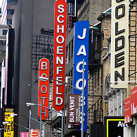 Theater signs on 45th Street