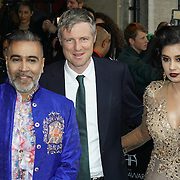 London,England,UK : 8th April 2016 : Shav,Zac Goldsmith,Sunny attend the The Asian Awards 2016 at Grosvenor House Hotel, Park Lane, London. Photo by See Li