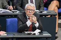 14 FEB 2019, BERLIN/GERMANY:<br /> Paul Viktor Podoley, MdB, AfD, Bundestagsdebatte, Plenum, Deutscher Bundestag<br /> IMAGE: 20190214-01-040<br /> KEYWORDS: Bundestag, Debatte