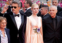 Jury members Kelly Reichardt, Pawel Pawlikowski, Elle Fanning and Robin Campillo at the Opening Ceremony and The Dead Don't Die gala screening at the 72nd Cannes Film Festival Tuesday 14th May 2019, Cannes, France. Photo credit: Doreen Kennedy