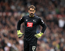 Scott Carson of Derby County - Mandatory byline: Robbie Stephenson/JMP - 07966 386802 - 18/10/2015 - FOOTBALL - iPro Stadium - Derby, England - Derby County v Wolverhampton Wanderers - Sky Bet Championship