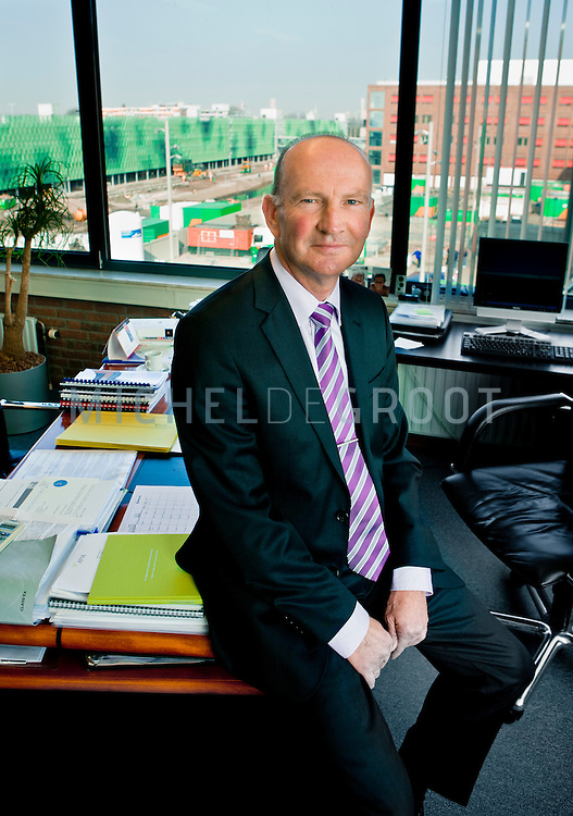 Peter van der Linden, topman van Batenburg in Rotterdam
