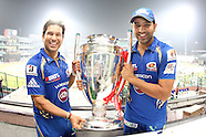 CLT20 2013 - Mumbai Indians Team Celebrations.