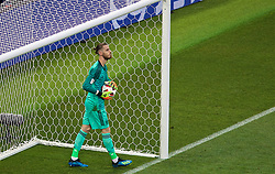 MOSCOW, RUSSIA - Sunday, July 1, 2018: Spain's goalkeeper David De Gea looks dejected as he concedes the first penalty of the shoot-out against Russia during the FIFA World Cup Russia 2018 Round of 16 match between Spain and Russia at the Luzhniki Stadium. Russia won 4-3 on penalties after a 1-1 draw. (Pic by David Rawcliffe/Propaganda)