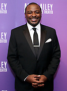 Robert Battle attends Alvin Ailey's 2017 Opening Night Gala at The New York City Center in New York City, New York on November 29, 2017.