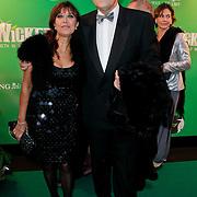 NLD/Scheveningen/20111106 - Premiere musical Wicked, Sandra Reemer en Henk Krol