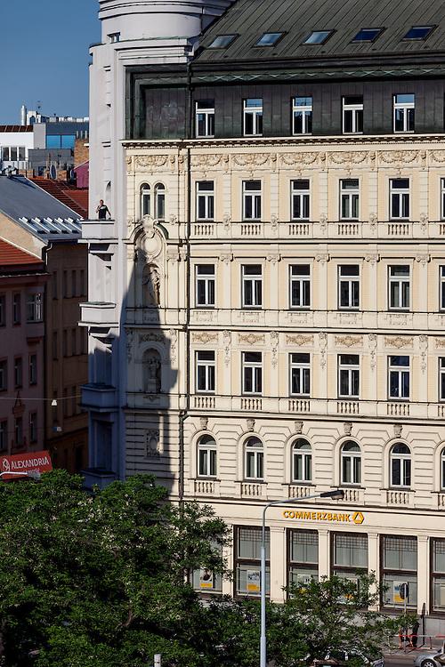 Commerzbank Filiale in Prag.