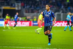 November 6, 2019, Milano, Italy: luis muriel (atalanta bc)during Tournament round, group C, Atalanta vs Manchester City, Soccer Champions League Men Championship in Milano, Italy, November 06 2019 - LPS/Fabrizio Carabelli (Credit Image: © Fabrizio Carabelli/LPS via ZUMA Wire)