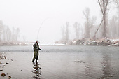 Winter Fly Fishing Photography Samples