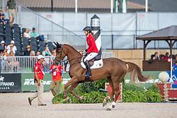 BLUM Simone (GER), DSP Alice<br /> Tryon - FEI World Equestrian Games™ 2018<br /> FEI World Individual Jumping Championship<br /> Third cometition - Round A<br /> 3. Qualifikation Einzelentscheidung 1. Runde<br /> 23. September 2018<br /> © www.sportfotos-lafrentz.de/Stefan Lafrentz