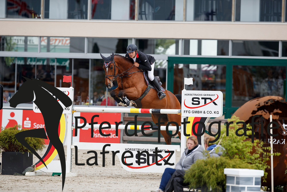 RHOMBERG Christian (AUT), Redley Kerfontaine<br /> Hagen - Horses and Dreams meets the Royal Kingdom of Jordan 2018<br /> Finale Mittlere Tour<br /> 29. April 2018<br /> www.sportfotos-lafrentz.de/Stefan Lafrentz