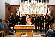 Midsummer Melodies, a concert of choral music with Marine Institute singers, SSE Airs which took  place in the Augustinian Church Galway . Proceeds to COPE Galway . Photo:Andrew Downes, xposure.