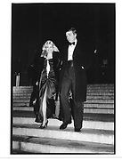 Donald and Ivana Trump leaving the Costume Institute. Metropolitan Museum. New York. 1990 approx. © Copyright Photograph by Dafydd Jones 66 Stockwell Park Rd. London SW9 0DA Tel 020 7733 0108 www.dafjones.com