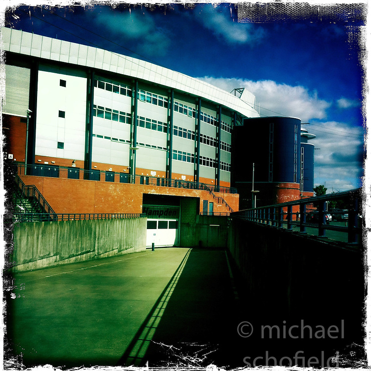 Hampden..Hipstamatic images taken on an Apple iPhone..©Michael Schofield.