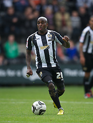 NOTTINGHAM, ENGLAND - Saturday, October 6, 2012: Notts County's Jamal Campbell-Ryce in action against Tranmere Rovers during the Football League One match at Meadow Lane. (Pic by David Rawcliffe/Propaganda)