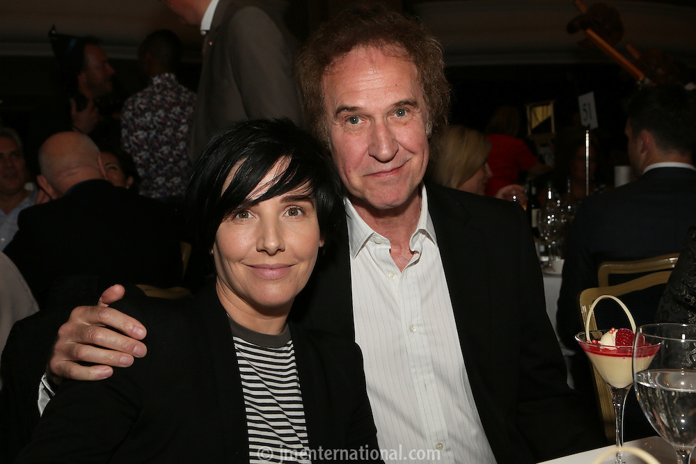 Sharleen Spiteri and Ray Davies. The Silver Clef Lunch 2013 in aid of  Nordoff Robbins held at the London Hilton, Park Lane, London.<br /> Friday, June 28, 2013 (Photo/John Marshall JME)