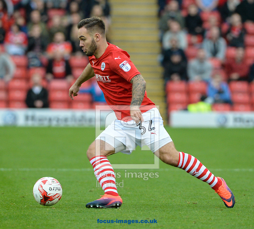 Adam Armstrong of Barnsley during the Sky Bet Championship match at Oakwell, Barnsley<br /> Picture by Richard Land/Focus Images Ltd +44 7713 507003<br /> 29/10/2016