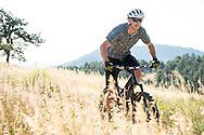 Tomas Kaplan mtb rides Betasso Preserve above Boulder, CO. © Brett Wilhelm