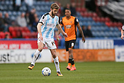 Huddersfield Town defender Martin Cranie (14)  during the Sky Bet Championship match between Huddersfield Town and Hull City at the John Smiths Stadium, Huddersfield, England on 9 April 2016. Photo by Simon Davies.