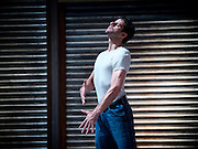 The Car Man <br /> by Matthew Bourne <br /> at Sadler's Wells, London, Great Britain <br /> press photocall<br /> 16th July 2015 <br /> <br /> <br /> Marcelo Gomes <br /> <br /> <br /> Photograph by Elliott Franks <br /> Image licensed to Elliott Franks Photography Services