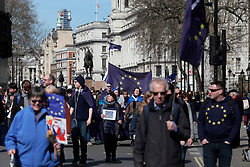 UK ENGLAND LONDON 25MAR17 - Thousands of protesters take part in the March for Europe in central London.<br /> <br /> jre/Photo by Jiri Rezac<br /> <br /> © Jiri Rezac 2017