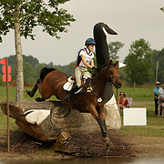 Pascale Tremblay-Wagner (CAN) and Paradoxe de l'Eclypse at the 2006 Florida CCI in Ocala, Florida, USA