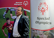 Patrick Gasser - Head of Corporate Social Responsibility from UEFA during the 12th Special Olympics Football Conference 2014 at Novotel Hotel in Warsaw on April 11, 2014.<br /> <br /> Poland, Warsaw, April 11, 2014<br /> <br /> Picture also available in RAW (NEF) or TIFF format on special request.<br /> <br /> For editorial use only. Any commercial or promotional use requires permission.<br /> <br /> Mandatory credit:<br /> Photo by &copy; Adam Nurkiewicz / Mediasport